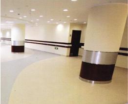 得嘉商用多层式塑胶地板工程——上海曙光医院