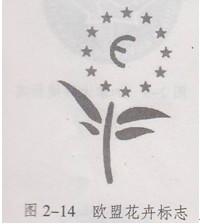 图2-14 欧盟花卉标志